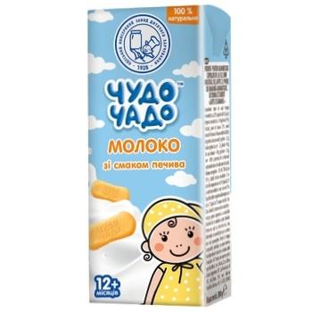 Молоко Чудо-Чадо со вкусом печенья от 12-ти месяцев 200мл