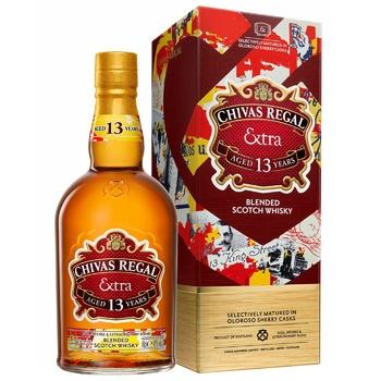 Виски Chivas Regal Extra 40% 0,7л