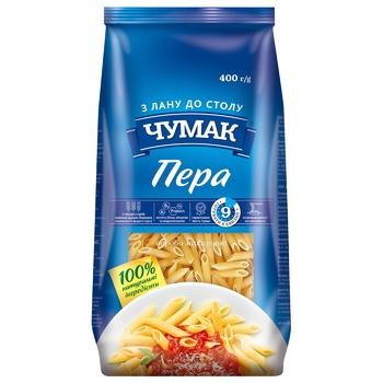Макароны Чумак Перья 400г - купить, цены на УльтраМаркет - фото 1