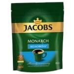 Кава Jacobs Monarch без кофеїну розчинна 60г