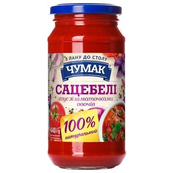 Соус Чумак Сацебели с овощами 440г