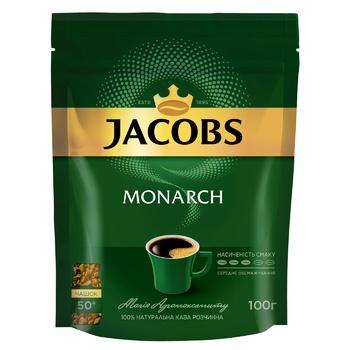 Кофе Jacobs Monarch растворимый 100г