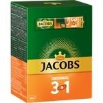 Напій кавовий Jacobs 3в1 Original розчинний 12г x 24шт