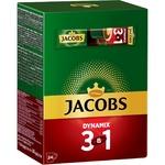 Напиток кофейный Jacobs 3в1 Dynamix растворимый 12,5г х 24шт