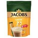 Напиток кофейный Jacobs 3в1 Latte растворимый 13г х 8шт