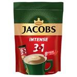 Напій кавовий Jacobs 3в1 Intense розчинний 12г х 8шт