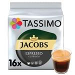 Кофе Jacobs Tassimo Эспрессо молотый в капсулах 16шт 118,4г