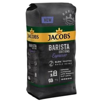 Кофе Jacobs Barista Espresso натуральный жареный в зернах 1кг - купить, цены на СитиМаркет - фото 1