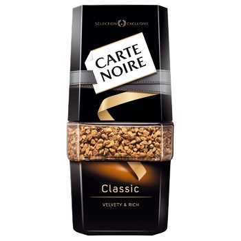 Carte Noire Classic Instant Coffee 95g - buy, prices for Auchan - photo 1