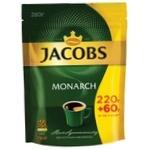 Кофе Jacobs Monarch растворимый 220+60г