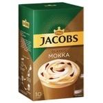 Напиток кофейный Jacobs Mokka Classic растворимый 21,9г х 10шт