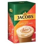 Напій кавовий Jacobs Cappuccino Classic розчинний 18,7г х 10шт