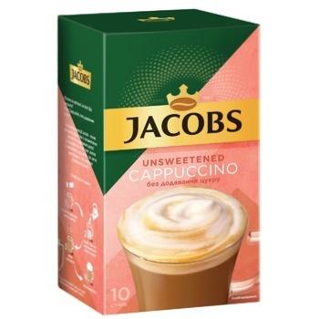 Напиток кофейный Jacobs Cappuccino растворимый без сахара 14г х 10шт