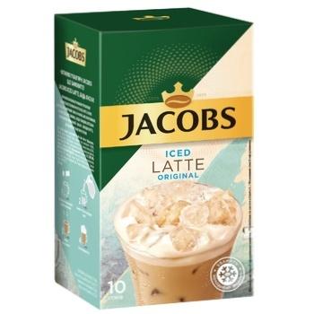 Напиток кофейный Jacobs 3в1 Iced Latte Original растворимый 21,5г х 10шт