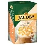 Напиток кофейный Jacobs 3в1 Iced Latte Соленая карамель 21,3г х 10шт