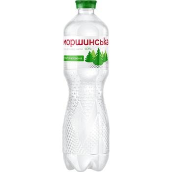 Минеральная вода Моршинская природная слабогазированная 0,75л
