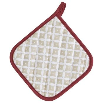 Actuel Joyful Santa Kitchen Potholder with Loop 20*20cm