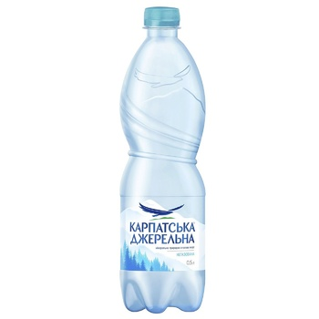 Still natural mineral water Karpatska Dzherelna 0,5l - buy, prices for CityMarket - photo 1