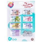 Ігровий набір One Two Fun Euro Play Money 137шт