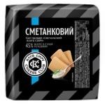 Сыр Клуб Сыра Сметанковый твердый 45%