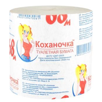 Бумага туалетная Умка - купить, цены на Ашан - фото 1