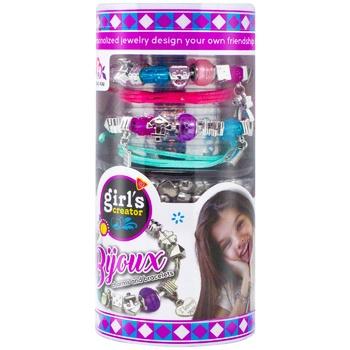 Набор игровой Yisheng Edutainment Shantou Qunxing Toys Браслет шарм для создания украшений для девочек