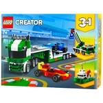 Конструктор Lego Creator 3в1 Транспортер гоночных автомобилей 31113