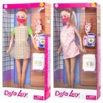 Игрушка Defa Кукла беременная с маской в ассортименте