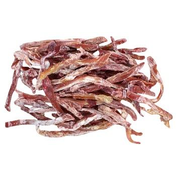 Кальмар палочки солено-сушеные