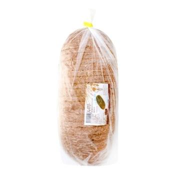 Хліб Прикарпатський новий нарізаний 600г - купить, цены на Ашан - фото 1