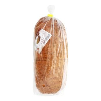 Хліб з висівками нарізаний 500г - купить, цены на Ашан - фото 1