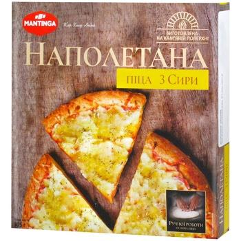 Піца Mantinga Napoletana Три сири швидкозаморожена 305г - купити, ціни на Метро - фото 1