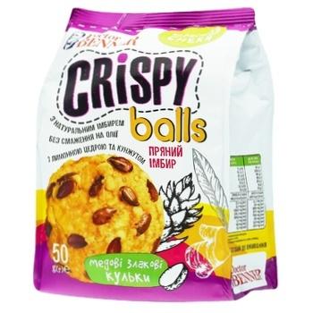 Снек Doctor Benner Crispy Balls Пряный имбирь 50г