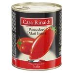 Томати Casa Rinaldi очищені у власному соку 800г