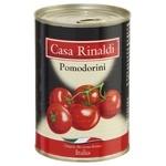 Томаты Casa Rinaldi маленькие в собственном соку 400г