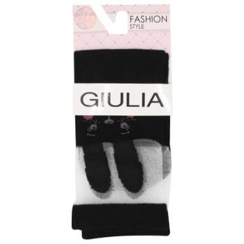Giulia Children's Knee Socks s.16 Black
