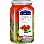 Ассорти овощное Нежин №1 По-нежинский 920г