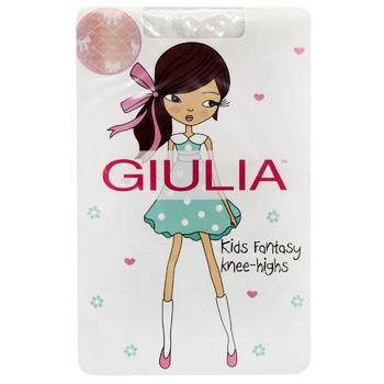 Giulia Children's Knee Socks s.18 Bianco