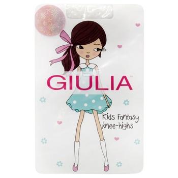 Giulia Children's Knee Socks Bianco