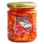 Casa Rinaldi Sauce with Garlic, Oil and Spicy Pepper 190g