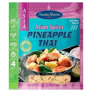 Приправа Santa Maria Asia суміш тайська зі смаком ананасу 30г