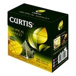 Чай Curtis Tropical Mango зеленый с кусочками манго 20шт х 1,8г