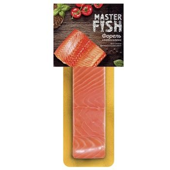 Master Fish slightly salted trout 130g