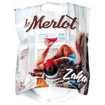 Вино Котнар Мерло червоне напівсолодке 10,5% 3л