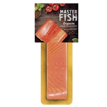 Філе форелі Master Fish холодного копчення 180г - купити, ціни на Таврія В - фото 1