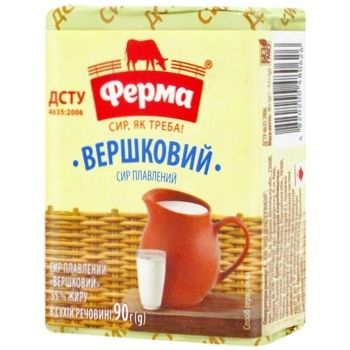 Ferma Processed Cream Cheese 55% 90g