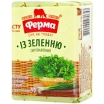 Ferma with Greens Processed Cheese 55% 90g
