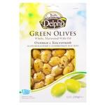 Оливки Delphi мариновані з кісточкою з оливковою олією 250г