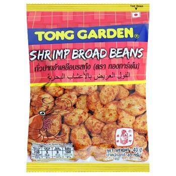 Фасоль Tong Garden жареная с креветкой 40г