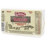 Масло Гармонія смаку селянське солодковершкове 73% 400г